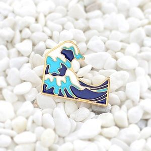 Jewelry - Waves Enamel Pin